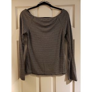 Lucky Brand Off The Shoulder Long Sleeve